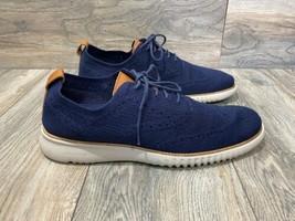 Cole Haan ZERØGRAND Wingtip Oxford in Marine Blue Stitchlite™ | Size 11 ... - $138.60