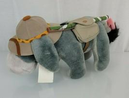 "Walt Disney World Safari Camping Eeyore Plush Stuffed Animal Kingdom 9"" ... - $14.84"