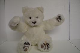 2004  White Polar Bear Fur Real Friends Tiger Electronics Interactive Lu... - $22.77