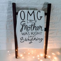 OMG My Mother Was Right: *Primitives By Kathy* Quirky Kitchen Dish Towel - €7,75 EUR