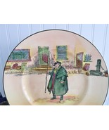 Royal Doulton Tony Weller Plate 1950s Charger Dickens Character English ... - $55.00