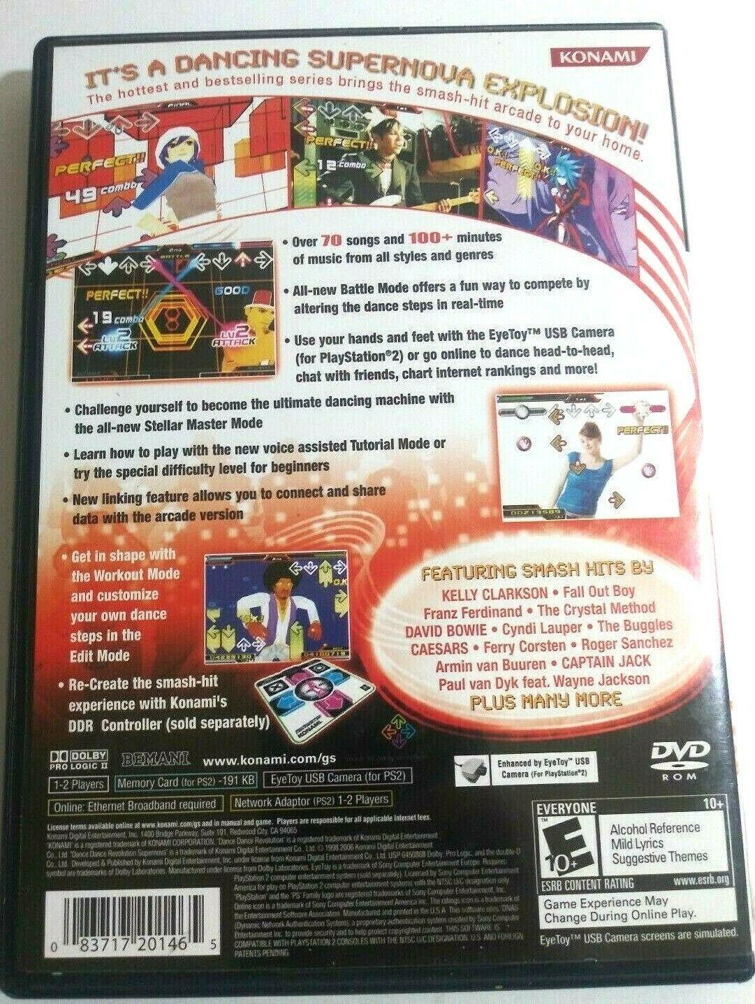 Dance Dance Revolution Super Nova Sony PlayStation 2, 2006 image 2