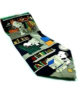 Peanuts Snoopy All In A Day Read Grill Lawn Shop Computer Novelty 100% S... - $11.88