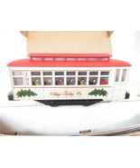 LIONEL -  11809 VILLAGE TROLLEY COMPANY 027 SET - READY TO RUN  - BOXED-... - $146.02