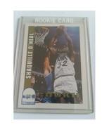 1992-93 Hoops #442 Shaquille O'Neal RC : Orlando Magic - $5.65