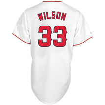 Men's CJ Wilson Los Angeles Angels Majestic White Home Replica Player Je... - $43.99