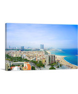 ARTCANVAS Barcelona, Spain - Beaches and Skyline - $43.99+