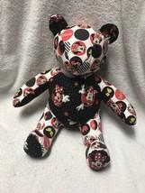 Handmade Disney Minnie Mouse Teddy Bear Plush - $30.68