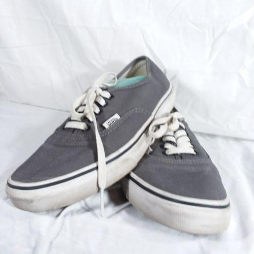 Vans Gray Classic Sneakers Shoes Men's Size 6 Women's Size 8 EUR 38.5 Lace Up