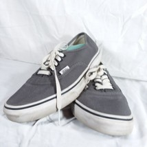 Vans Gray Classic Sneakers Shoes Men's Size 6 Women's Size 8 EUR 38.5 La... - $28.04