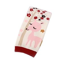 Set of 2 Lovely Deerlet Baby Girls Leg Wamers Cotton Toddler Leg Guards,0-2Yrs