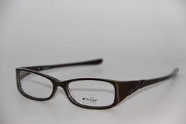 New Oakley OX1035-0352 Chestnut Scarf Eyeglasses Authentic Rx 52-15 W/CASE - $65.55
