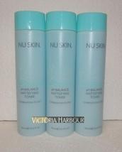 Three pack: Nu Skin Nuskin Nutricentials In Balance pH Balance Toner 150... - $60.00