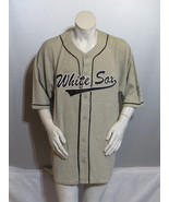 Chicago White Sox Jersey (VTG) - Grey with Black Script by Mirage- Mens ... - $95.00