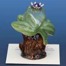 Birthstone Tree Frog Prince October Tourmaline Miniatures by Hagen-Renaker image 3