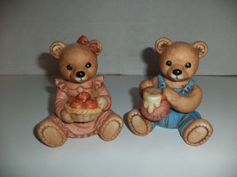 #1425 Homco Bear Figurines - $9.99