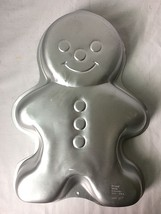 Wilton Gingerbread Man Cake Pan Mold 2105-3313 1998 Christmas - $12.95