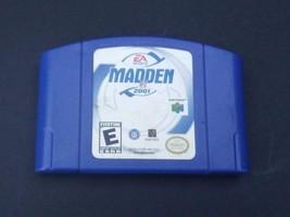Nintendo 64 Madden 2001 Authentic Blue Cartridge  - $6.80