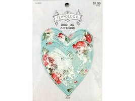 Hobby Lobby Sew-ology Iron-on Applique, Hearts, Set of 2 #1614031