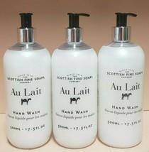 THE SCOTTISH FINE SOAPS~~AU LAIT~~HAND WASH PUMP 17.5 OZ PUMP - $17.75+