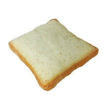 Bread Plush Pillow Fluffy Loaf of Bread Squishy Durable Cute Stuffed Bre... - $16.50