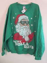 Men's Size 2XL  2X  2XB Christmas Sweatshirt 50% OFF Holiday Party New W... - $16.93