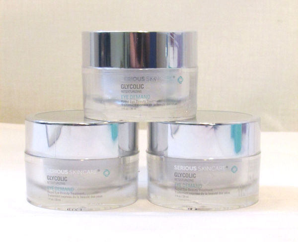 Serious Skincare Glycolic EYE DEMAND Rapid Eye Beauty Treatment 1 oz NEW Lot of  - $26.99