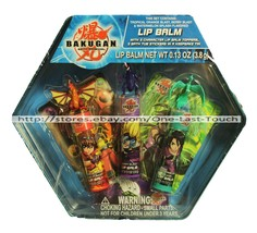 BAKUGAN 7pc Lip Balm Set BATTLE BRAWLERS Toppers+Bath Tub Stickers+KEEPS... - $14.25