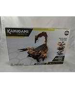 Mattel Kamigami Scarrax Scorpion Robot Build Program Play NEW - $9.86
