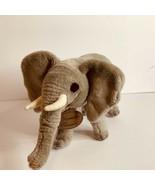 "Yomiko Classics Plush Stuffed Animal toy Elephant 14"" Lgth Russ Berrie - $14.89"
