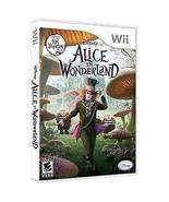 Alice in Wonderland (Nintendo Wii, 2010)  ~ BRAND NEW IN SHRINKWRAP! - $31.68