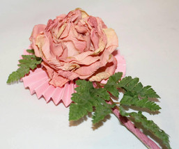 Handcrafted Decorated Flower Gift Valentine's Day Mother's Day, Housewarming - $8.00