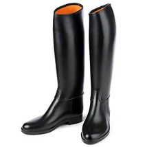 Ovation Derby/Cottage Child's Lined Rubber Riding Boot Child 4 Black - $77.63