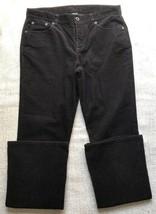 Lauren by Ralph Lauren Women's Size 6 Velvet Pants 99% Cotton Black - $22.76