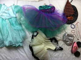 Halloween Disney Princess Dress Up Lot Pretend Play 10/12 - $37.38