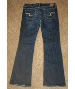AMERICAN EAGLE Jeans 4 Reg Stretch Artist 29 x 31 Low Rise Denim Womens - $15.45