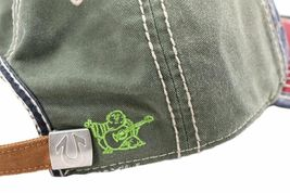 True Religion Men's Premium Cotton Vintage Distressed Trucker Hat Cap TR1690 image 14