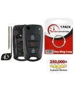 For 2012 2013 Kia Sportage Keyless Entry Flip Remote Car Key Fob Shell C... - $7.08