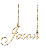 Jason Custom Name Necklace Personalized for Mother's Day Christmas Gift - $15.99 - $29.99