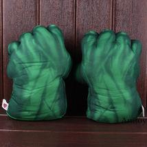 The Incredible Hulk Gloves Plush Toy Superhero Marvel Toys Hulk Cosplay Christma image 3