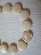 Pale pink mother of pearl bracelet - $12.00