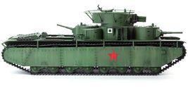 Academy 13517 1:35 Soviet Union T-35 Soviet Heavy Tank Plastic Hobby Model image 4