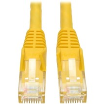 Tripp Lite 3ft Cat6 Gigabit Snagless Molded Patch Cable RJ45 M/M Yellow 3 - 3ft  - $19.22