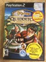 Playstation 2 PS2 Harry Potter Quidditch World Cup w/ Case & Manual - $9.45