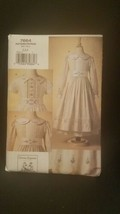 Vogue 7664 Teresa Layman Smocked  & Embroidered Dress & Slip   2,3,4  - $14.84