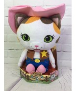 Disney Junior Sheriff Callie's Wild West Cat Stuffed Animal Plush Toy 10in - $29.44