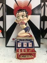 NIB Official Betty Boop Hot Slots Figurine Trinket Box Slot Machine Conn... - $29.69