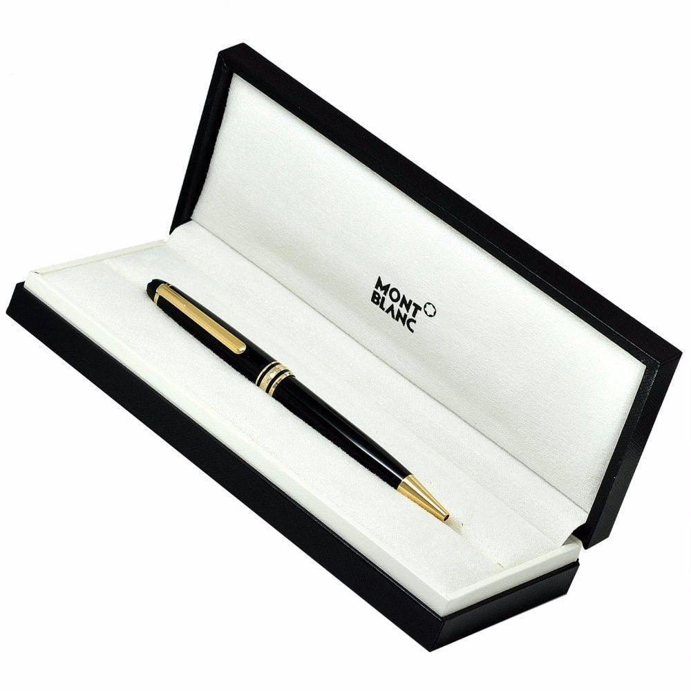 Montblanc Ballpoint Pen 164 Meisterstuck- Black Resin with gold accents