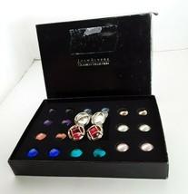 JOAN RIVERS Gold Tone Interchangeable Stud Pierced Earrings 26 Piece Set... - $33.14