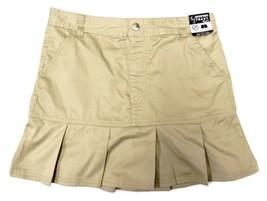 French Toast Girls School Uniform Pleated Hem Scooter Skirt Shorts Khaki... - $12.58